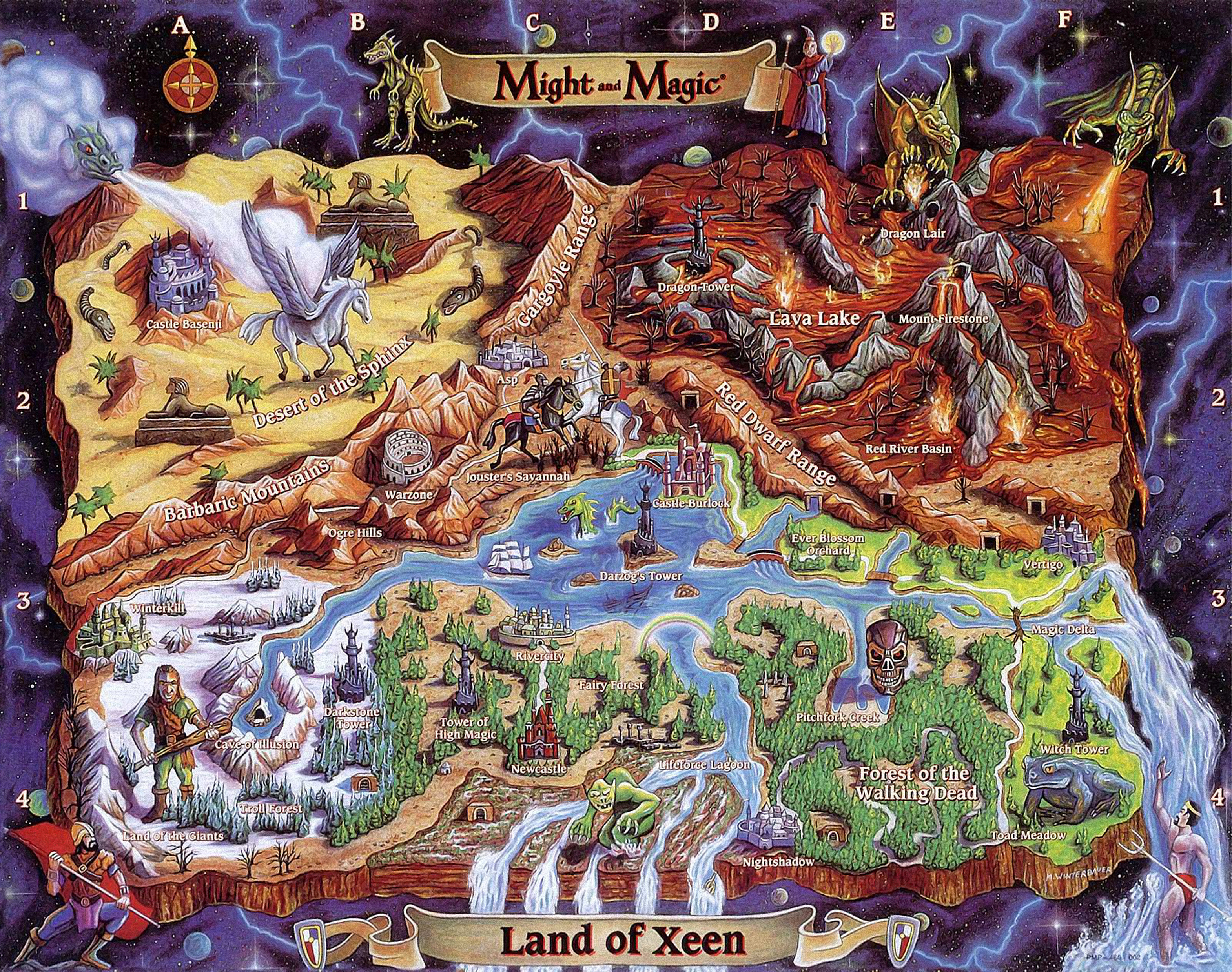 might and magic iv  clouds of xeen